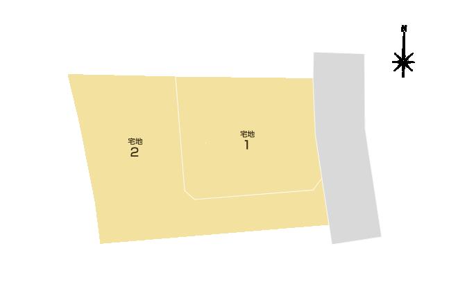 田井島2丁目 区画図